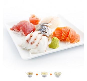 Menu 9 ( 20 sashimis )